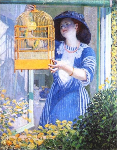 Open Window by Frederick Carl Frieseke
