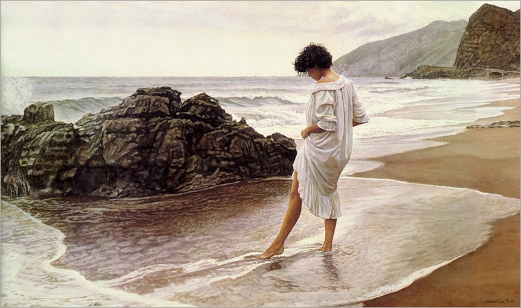 pacific sanctuary-Steve Hanks (american, b.1949)