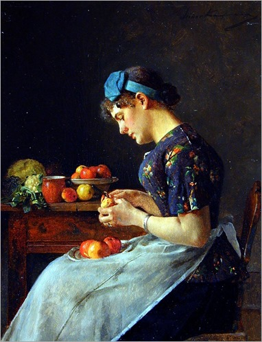 Preparation - Isidor Kaufmann (hungarian painter)