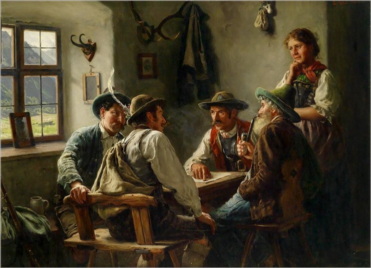 14.Emil Karl Rau (german, 1858-1937)