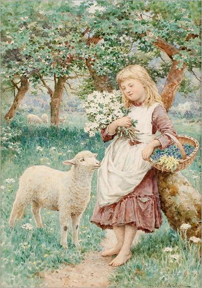 4.Henry James Johnstone (british, 1835-1907)