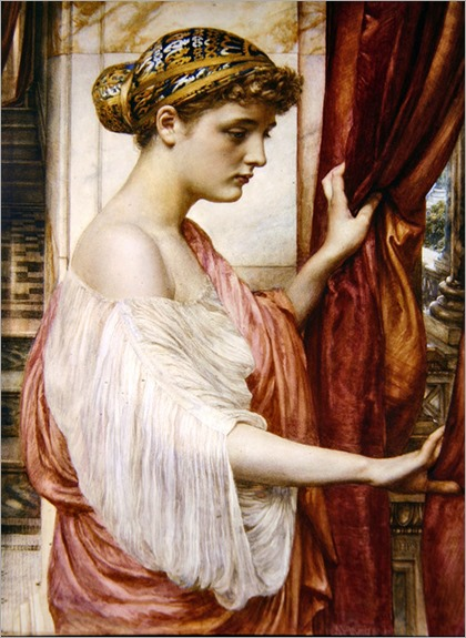 At The Window, Sir Edward John Poynter