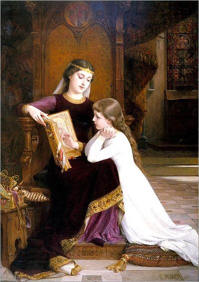Autrefois, by Emile Munier