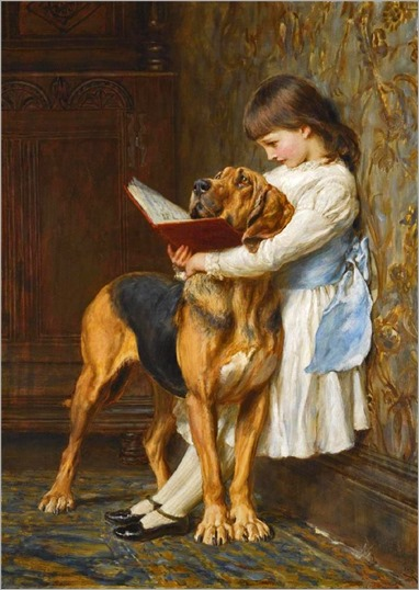 Briton Riviere - Naughty Boy