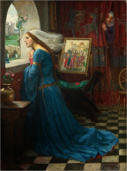 Fair Rosamund - 1905 - John William Waterhouse (english painter)