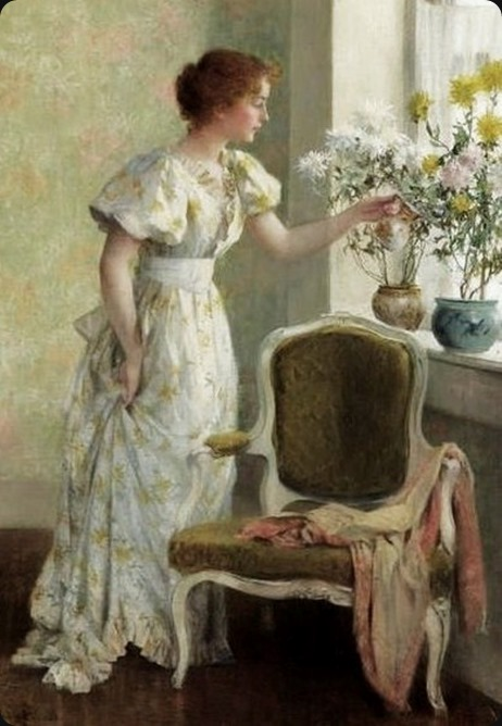 Francis_Coates_Jones_(American_artist,_18571932)_Flowers_in_the_Window