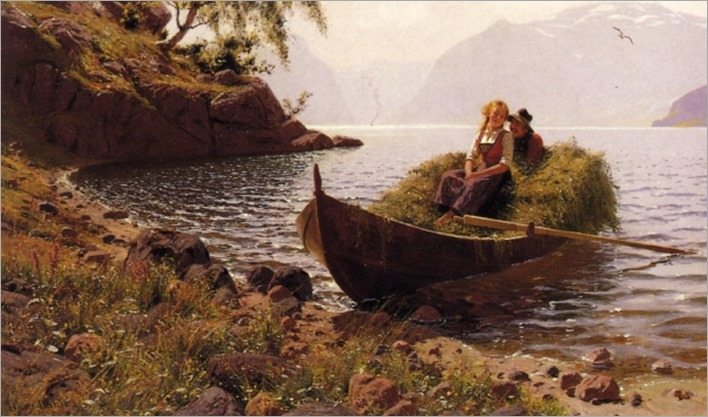 In Calm Waters (also known as In Stiller Bucht) - Hans Dahl