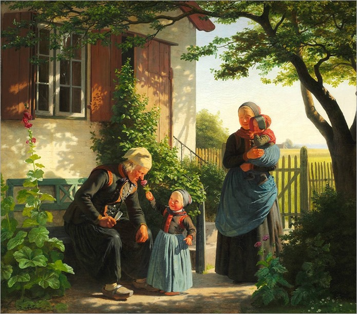 JOHANN JULIUS EXNER (DANISH, 1825-1910)