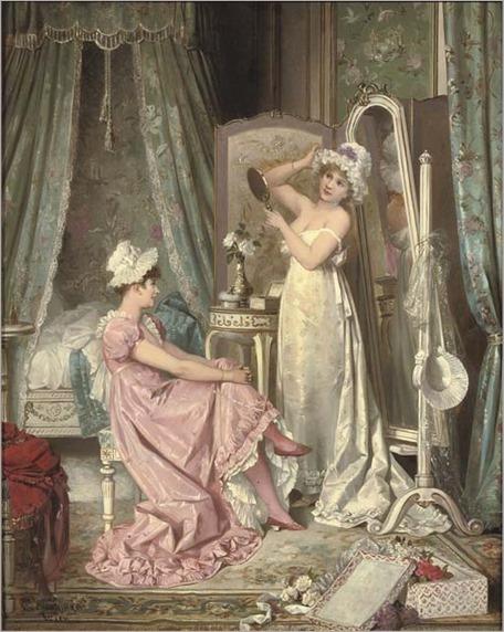Karl Schweninger (Austrian, 1854-1903)_the boudoir