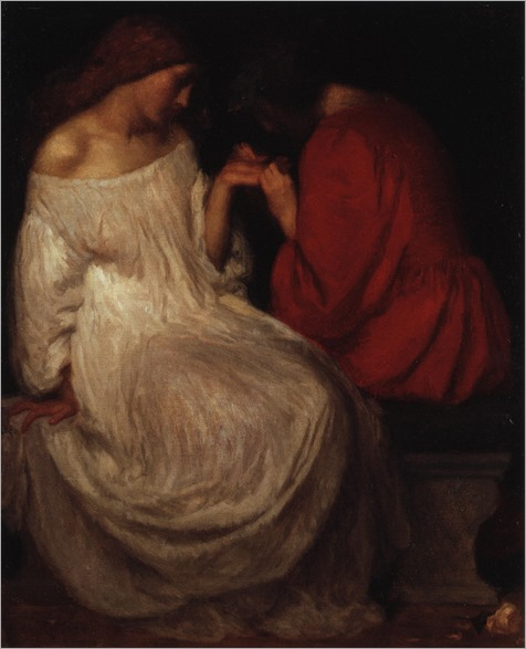 La bonne aventure -1898 - Robert Anning Bell (english painter)