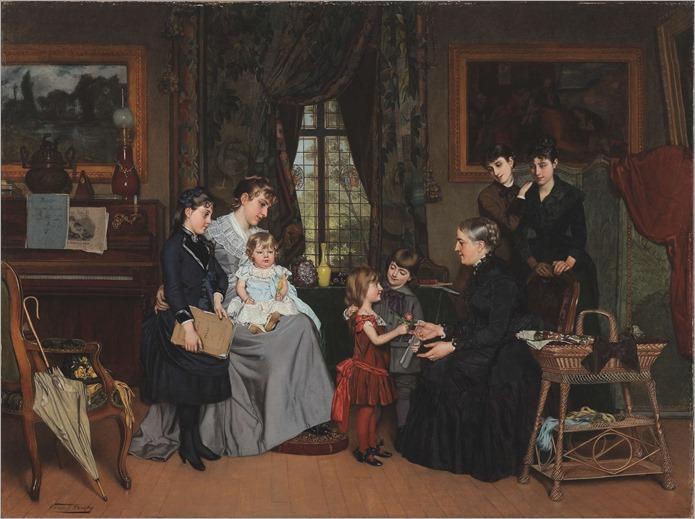 La Fête de la Grand'maman - Louis-Edmond Pomey