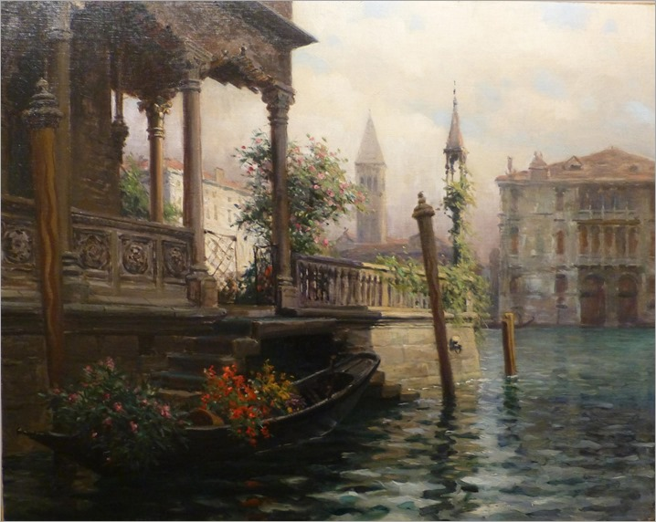 Louis Aston KNIGHT (french, 1873-1948)-Venice