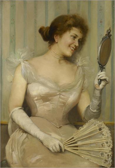 M. Thybolt (active 1880 - 1920) - Contentment