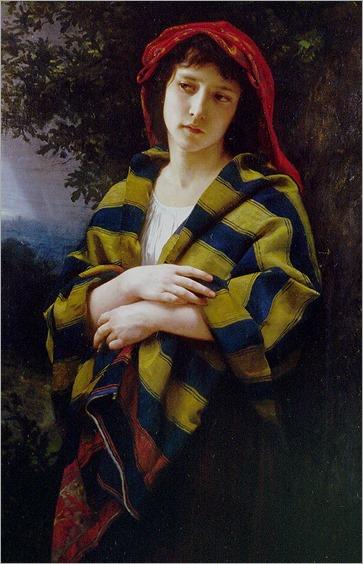 Pendant l'orage, 1872-Bouguereau