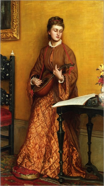 Prinsep_Valentine_Cameron_(1838-1904, english)The_Mandolin_Player