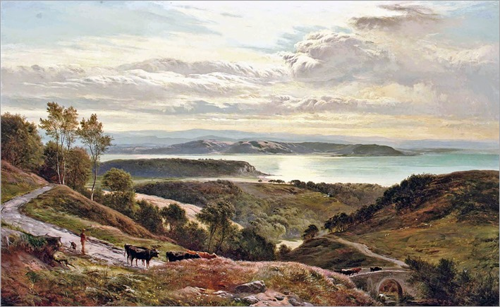 Sidney Richard Percy - Grange Over Sands, Cumbria 1874