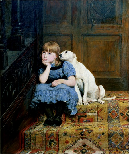 sympathy-briton-riviere (irish painter)