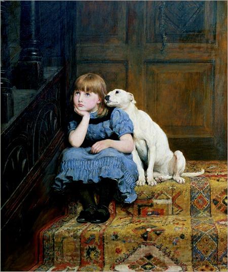 sympathy-briton-riviere (irish painter)