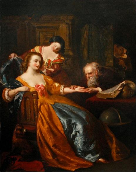 Thomas Heaphy (attr) - The Fortune Teller