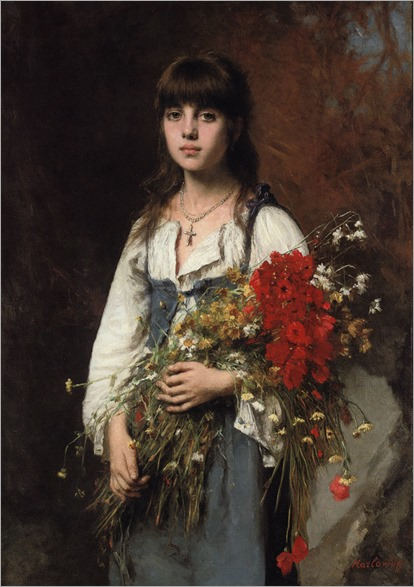 Alexej Alexejewitsch Harlamoff (Russian, 1840-1925), Summertime