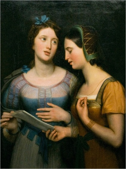 Antoine Wiertz (1806 - 1865) - Singing lesson