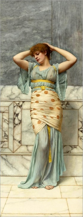 Beauty in a Marble Room John William Godward - 1894