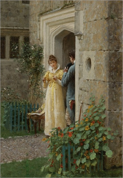 Edmund Blair Leighton (1853 - 1922) - The request