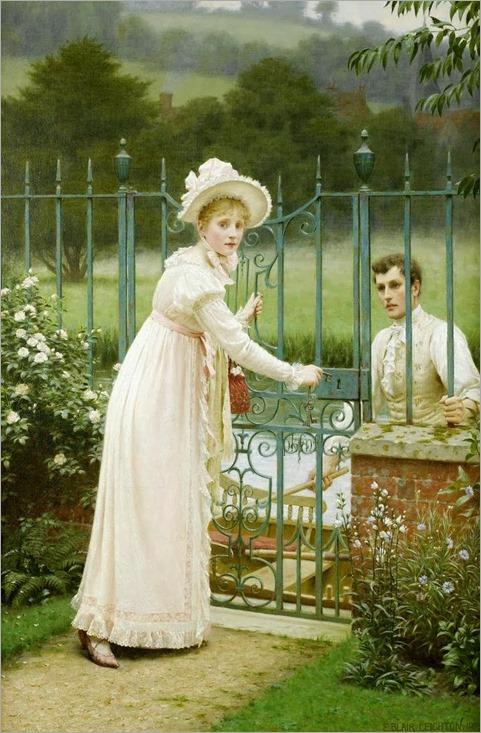 Edmund-Blair-Leighton-Where-Theres-a-Will