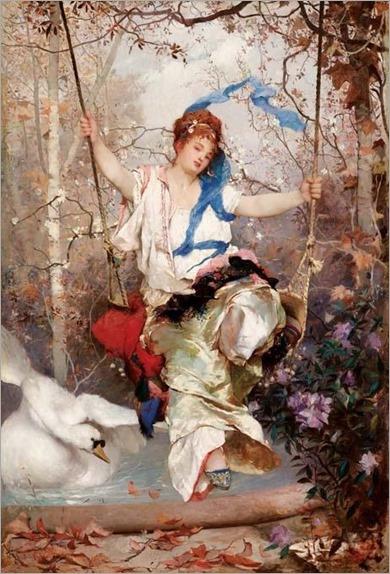Edoardo Dalbono (1841-1915) - Spring