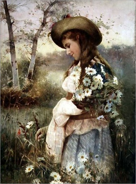 gathering marguerites-Alexander Mark Rossi