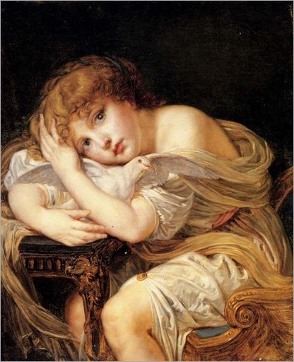 Greuze-Jean-Baptiste-La-Jeune-Fille-A-La-Colombe