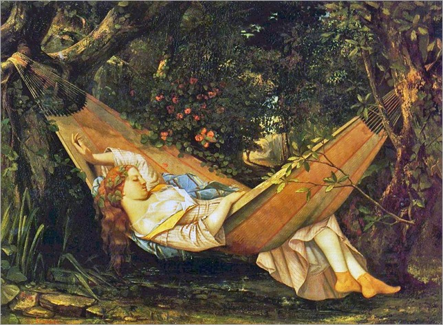 Gustave Courbet_The Hammock -1844