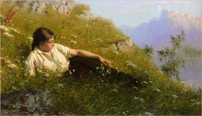 Huile ved Fjorden - Hans Dahl