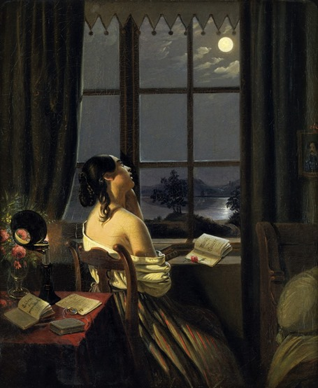 Johann Peter hasenclever_Die sentimentale_19 th century
