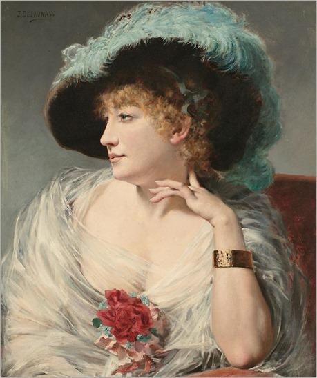 Jules Delaunay- (Paris, 1845-1906)