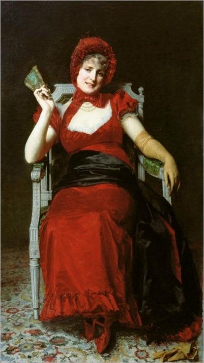 Lady in Red - YURI YAKOVLEVICH LEMAN