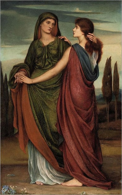 Naomi and Ruth (1887) - Evelyn De Morgan