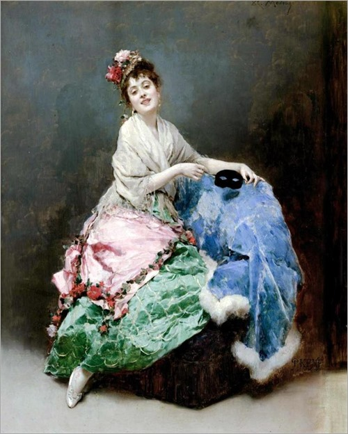 Portrait of a Lady- Raimundo de Madrazo y Garreta