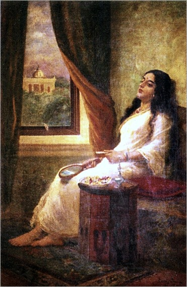 Raja_Ravi_Varma (1848-1906)_In_Contemplation