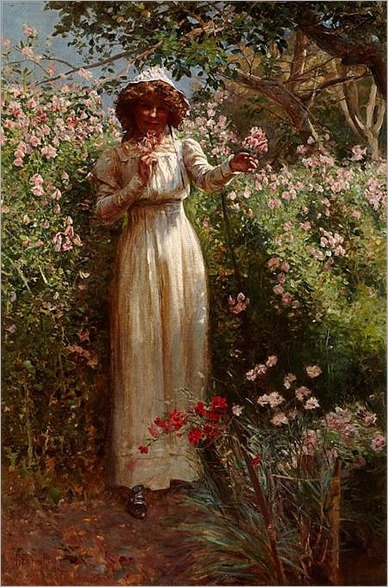 ROBERT PAYTON REID A.R.S.A. (SCOTTISH 1859-1945) SUMMER TIME