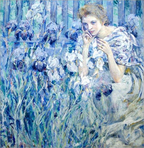 Robert Reid - Fleur de Lis [c.1895-1900]