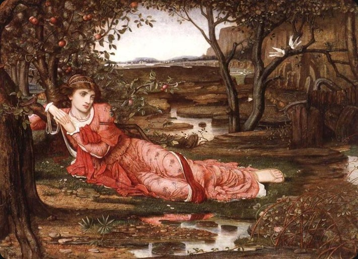song without words - John Melhuish Strudwick
