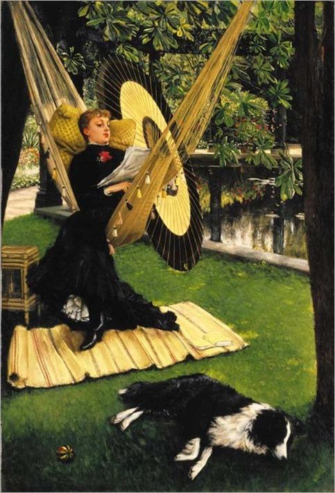 The Hammock - James Tissot (french painter)