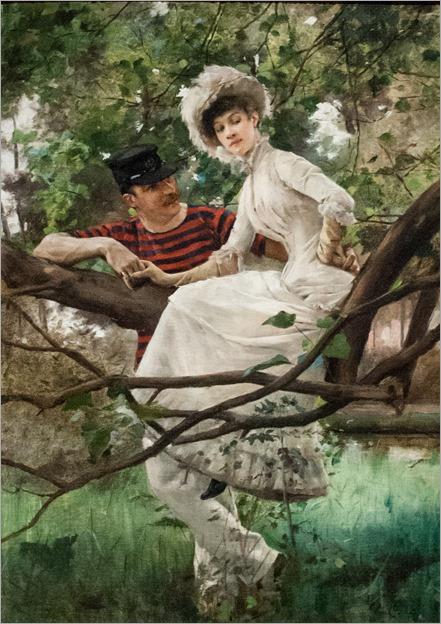 The Idyll - Carl Larsson (swedish painter)