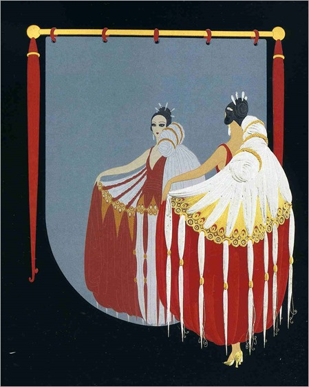 the-mirror by Erté