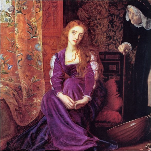 the pained heart_Arthur Hughes