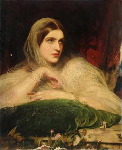 Thought folded over by James Sant