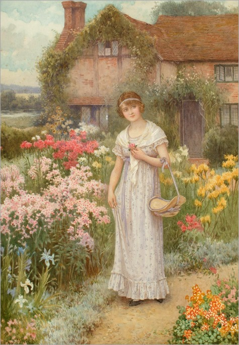 William Affleck (1869-1909) - The Old Manse garden