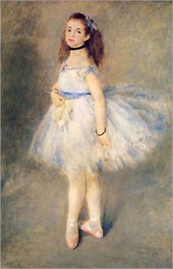 A-Bailarina-Pierre Auguste Renoir