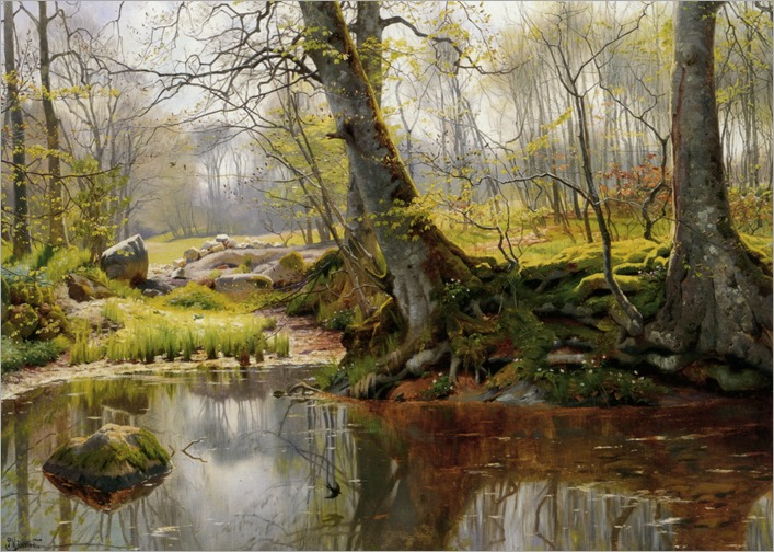 A tranquil pond_Peder Mork Monsted